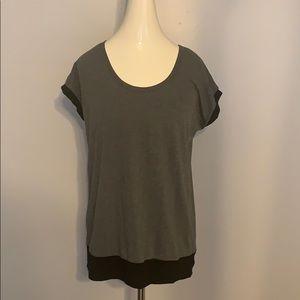 ⭐️3/$10⭐️ Grey and Black T shirt